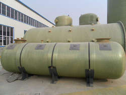 FRP transport tank