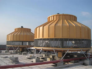 Medium and high temperature cooling tower
