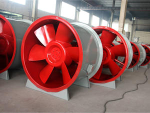 China FRP axial fan factory