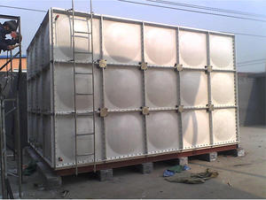 China Modular FRP water tank factory