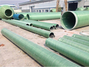China FRP pressure pipe factory