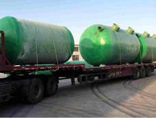 FRP winding septic tank