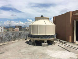 Non-filler cooling tower