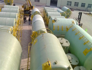 China FRP acid and alkali tank factory