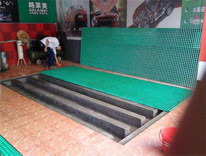 China Car wash room FRP grate factory