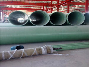 China FRP acid and alkali pipe factory