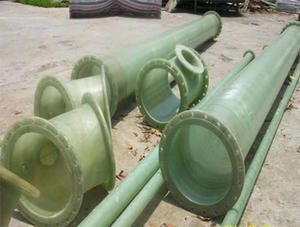 China FRP spray pipe factory