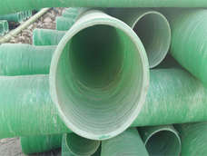 FRP sewer pipe
