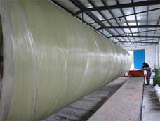 High temperature FRP pipe