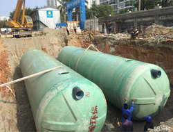 Large FRP winding septic tank