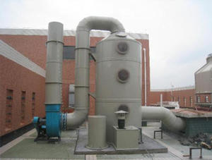 China Exhaust gas purification tower factory