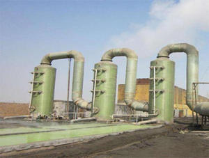 China FRP desulfurization tower factory