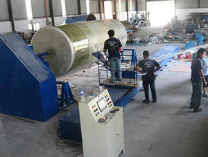 China FRP winding machine factory