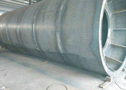 FRP winding mold