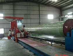 FRP pipe winding equipment