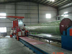 FRP winding products production line