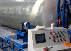 FRP products winding equipment