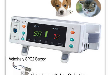 Veterinary pulse oximeter