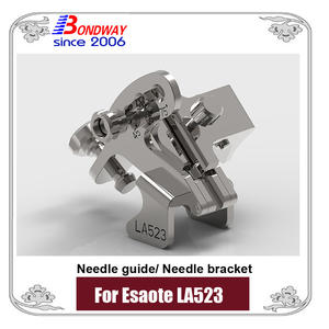 Esaote needle bracket, biopsy needle bracket, needle guide for transducer LA523