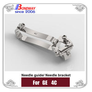 Needle bracket, biopsy needle bracket, needle guide for GE ultrasound 4C