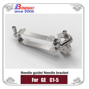 Needle bracket, biopsy needle bracket, needle guide for GE ultrasound,