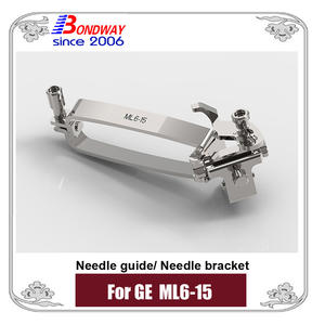 Needle bracket, biopsy needle bracket, needle guide for GE ultrasound E8C