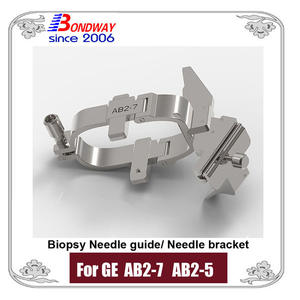 GE Needle bracket, biopsy needle bracket, needle guide for GE ultrasound AB2-7, AB2-5