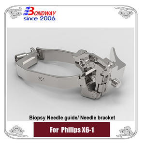 Philips Needle bracket, biopsy needle guide for Philips transducer X6-1