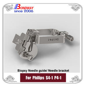 Biopsy Needle Guide For Philips Phased Array Transducer S4-1 P4-1, Needle Bracket, Biopsy Kits