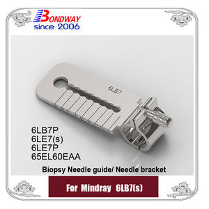 Biopsy needle guide for Mindray  transducer 6LB7(s) 6LB7P 6LE7(s) 6LE7P 65EL60EA