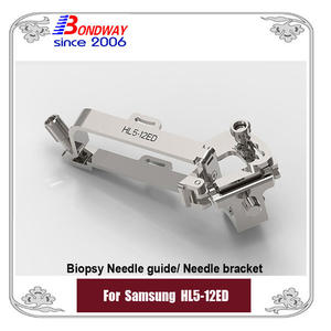 Samsung biopsy needle guide for linear transducer  HL5-12ED, needle bracket