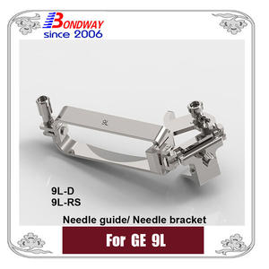 biopsy needle bracket, needle guide for GE ultrasound 9L 9L-D, 9L-RS