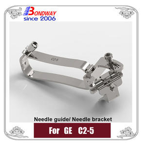 GE biopsy needle guide for transducer C2-5, GE biopsy needle bracket