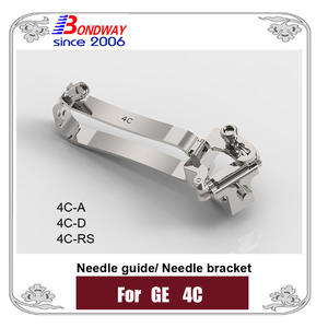 Needle Bracket, Needle Guide For GE Ultrasound Probe 4C 4C-A 4C-D 4C-RS