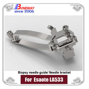 Needle Bracket, Biopsy Needle Guide Bracket For Esaote Ultrasound Transducer LA533
