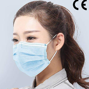 disposable surgical mask with CE mark for fighting Covid-19, Coronavirus