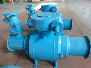 High quality customize underground  ball valve,Fully Weld Ball Valve manufacturer in China