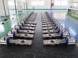 China customize Through Conduit Knife Gate Valve ,uni-directional  KGV ,knife gate valve
