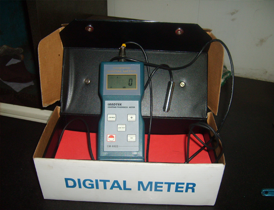 coalting thickness testing meter