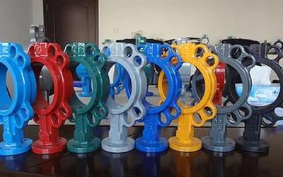 Wafer Soft Seal Butterfly  Valve