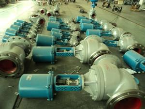 China customize Eletric actuator control valve manufacturers exporters