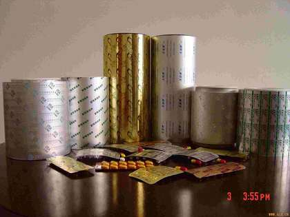 PTP aluminum foil