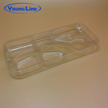 Clear new design blister pvc tray