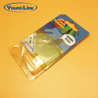 PVC transparent slid card blister packaging