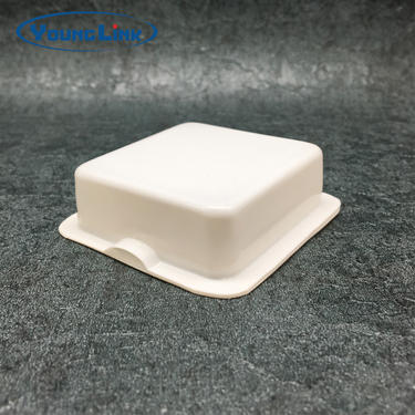 High quality white pvc clamshell packaging design
