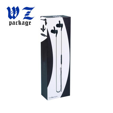 Electronic Audio Earphone Printed Paper Packaging Drawer Box
