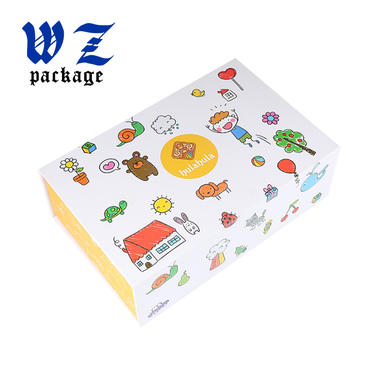 Colorful Printing Folding Gift Box Paper Packaging Box with Clear Window