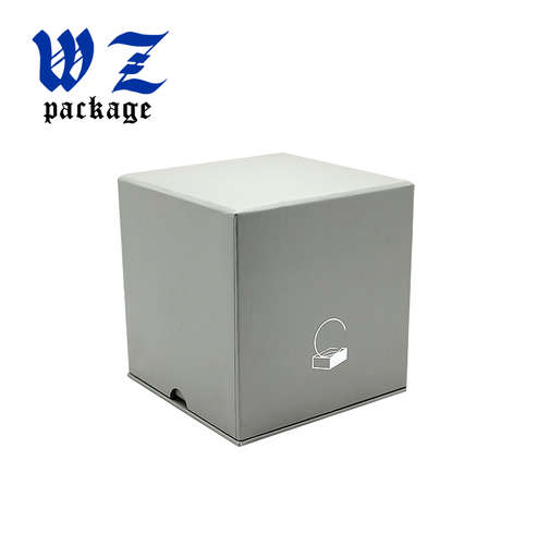 Custom Foil Stamping Lid and Base Packaging Paper Box with Foam Insert