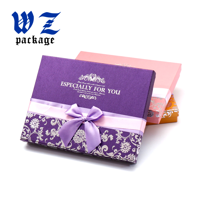 Luxury Hard Fancy Paper Chocolate Paper Packaging Candy Gift box