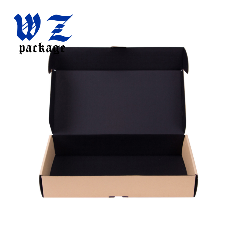 Retail packaging corrugated box different size shipping box